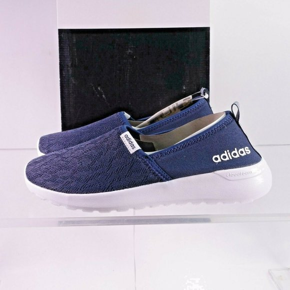 NEW adidas Neo Cloudfoam Lite Racer Slip-On Shoes